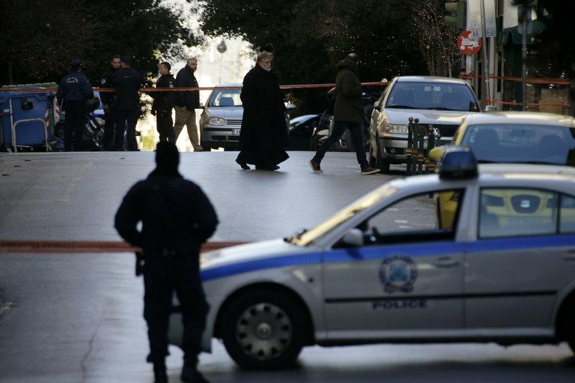 Eksplozja bomby w centrum Aten
