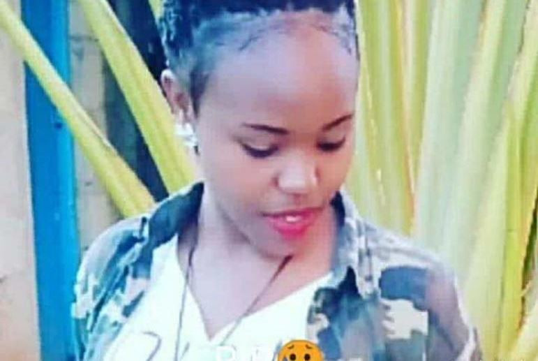 Fridah Makena, the Meru National Polytechnic who committed suicide