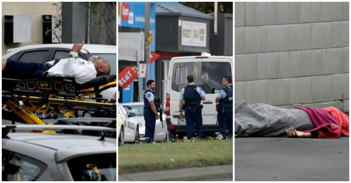 TERORISTIČKI NAPAD NA NOVOM ZELANDU Pokolj u dve džamije, 49 MRTVIH, preko 40 povređenih, pronađeni automobili puni BOMBI FOTO, VIDEO