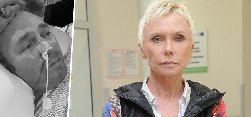Ewa Błaszczyk o śmierci pana Sławomira w szpitalu w Anglii: To jest po prostu bierna eutanazja w majestacie prawa