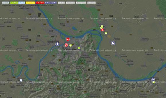 Crveni alarma zagađenja u Beogradu