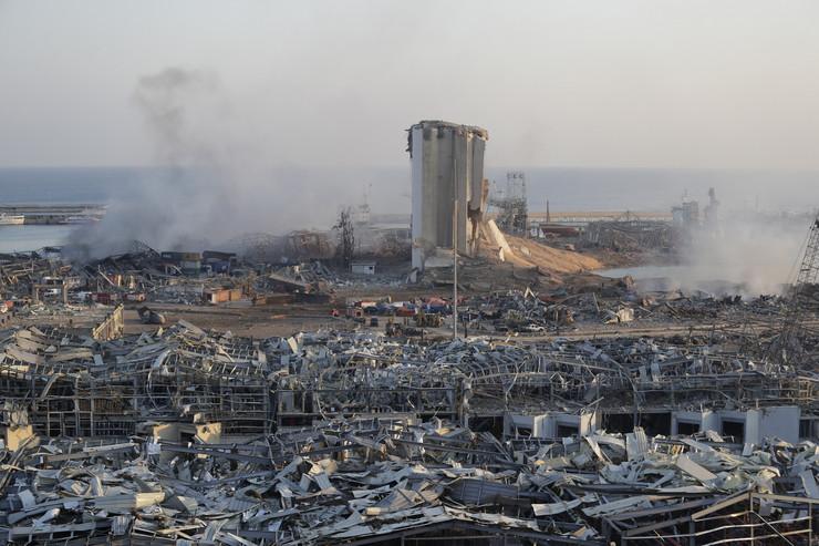 Bejrut, eksplozija, Liban