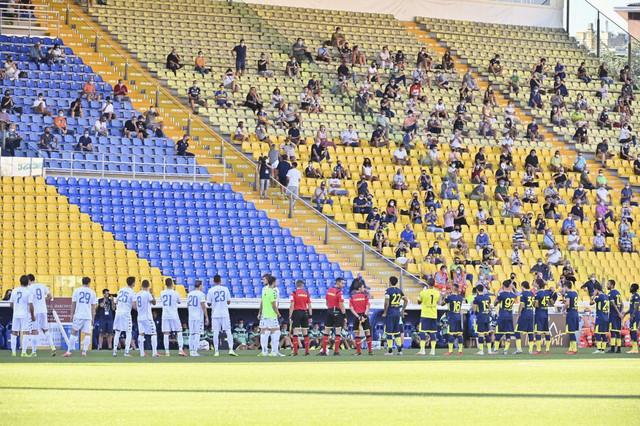Detalj pred početak meča FK Parma - Napoli