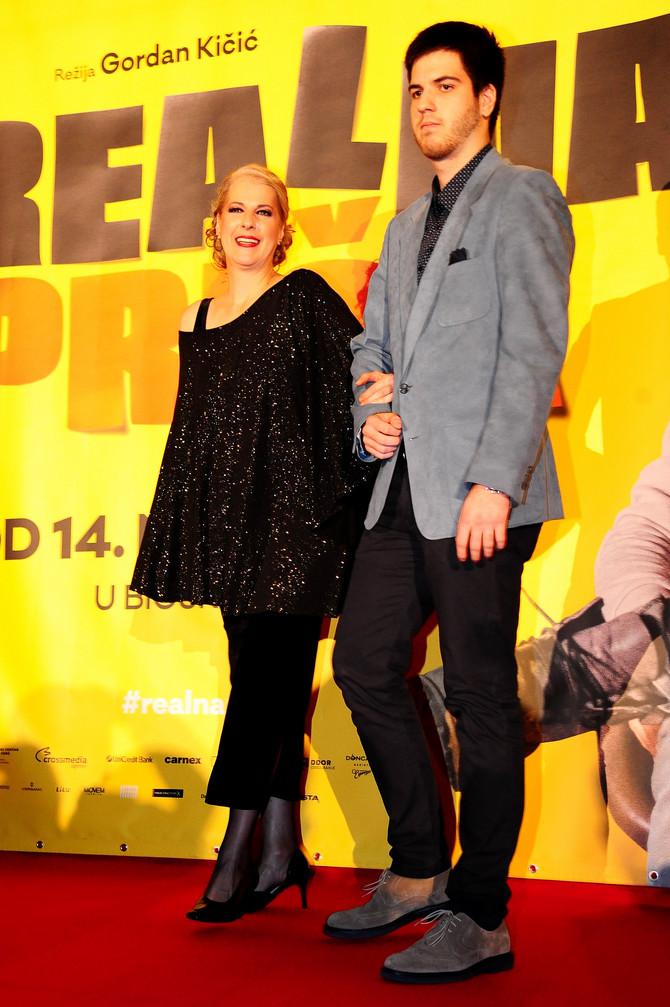 Katarina Gojkoivć sa sinom