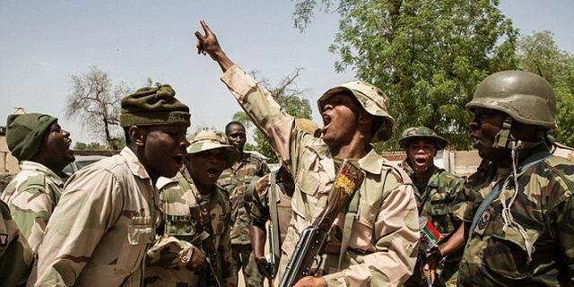 Troops engage terrorists in fierce gun battle, 11 fighters dead | Pulse  Nigeria