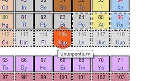 Udowodniono istnienie 115 pierwiastka - Uup