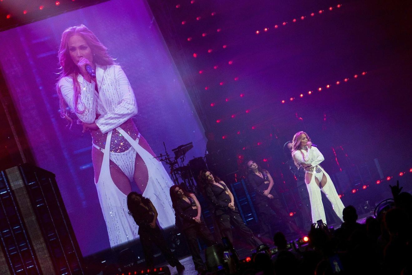 Dženifer Lopez na koncertu u San Antoniju