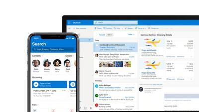 Mobilny klient pocztowy Microsoft Outlook umożliwi dyktowanie wiadomości e-mail