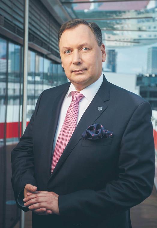 Andrzej Kensbok, prezes Polskiej Grupy Zbrojeniowej  fot. Andrzej Iwański/mat. prasowe