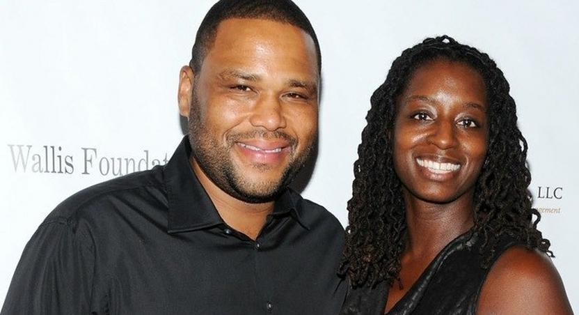 Anthony anderson and wife, Alnia Stewart