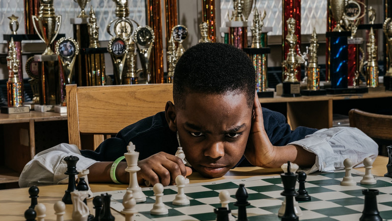 Tanitoluwa Adewumi, who lives with his family in a shelter in New York City, has become a chess champion in little over a year. (New York Times)