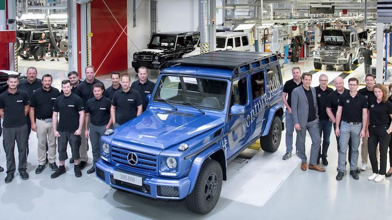 Mercedes klasa G: 300 tys. egz. z Grazu