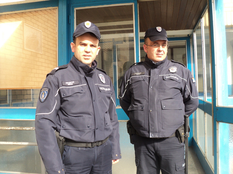 Policajci Jeton Redžepi (39) i Nagip Salihu (39) Preševo RAS S. T.