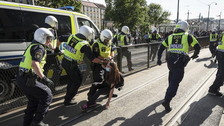 Protesty w Goeteborgu