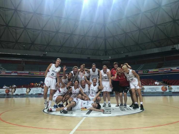 Ženska veteranska košarkaška reprezentacija Srbije