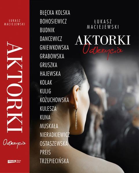 """""""Aktorki: Odkrycia"""" - okładka książki"""