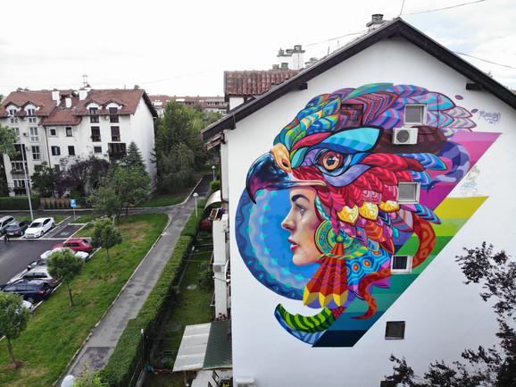 Prvi grafit na Bežaniji
