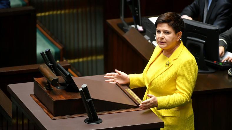 Premier: wniosek PO obraża inteligencję Polaków, zabiera czas Sejmowi