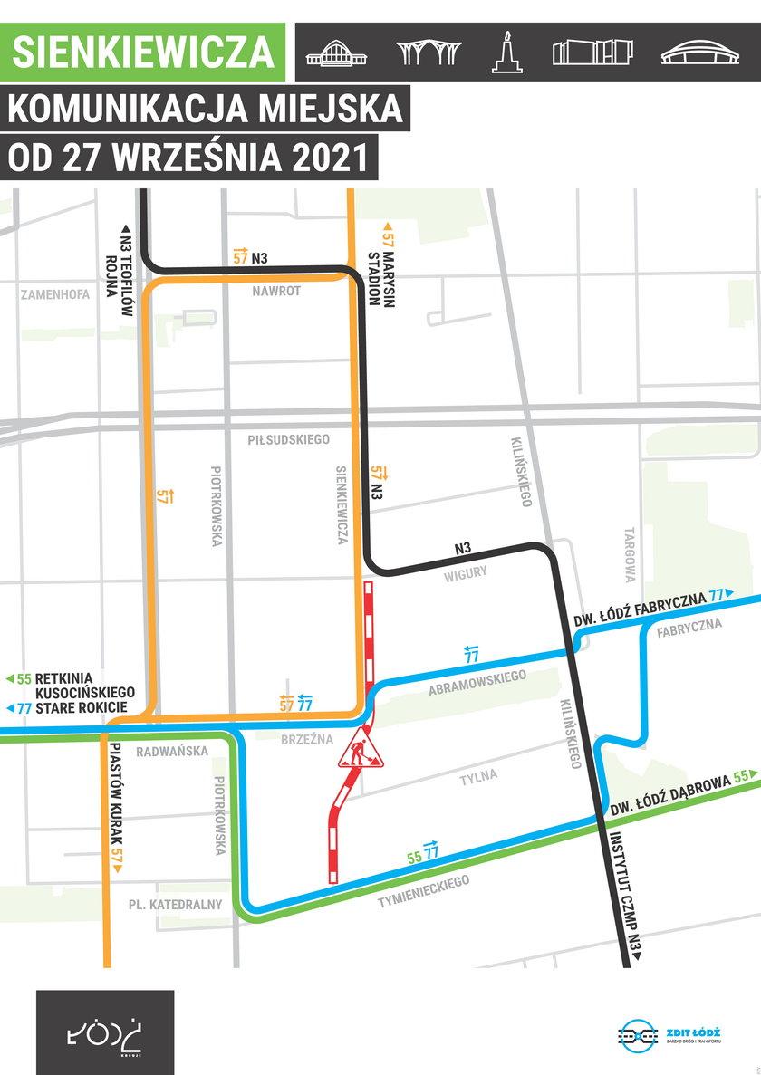 Nowe trasy autobusów MPK
