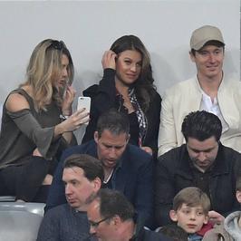 Bayern przegrał z Realem, Robert Lewandowski z żoną na trybunach