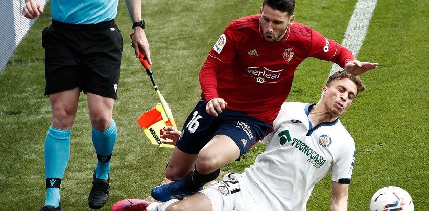 La Liga: Osasuna Pampeluna zremisowała bezbramkowo z Getafe