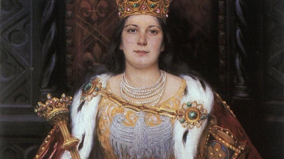 Królowa Jadwiga Andegaweńska (1373 - 1399)