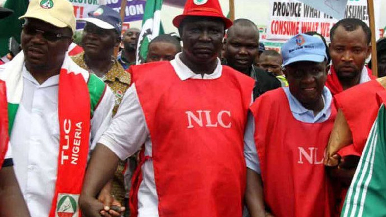 NLC Leaders: The State Secretary of the NLC, Mohamed Ibrahim said that he was sure that the strike was in full compliance. (Hausa Legit)