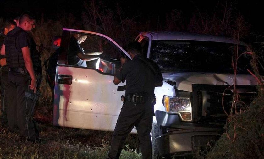 Zastrzelili szefa policji z 11-letnim synem