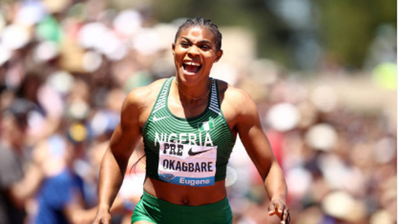 Blessing Okagbare has won her second Diamond title of the year (Ezra Shaw/Getty Images)