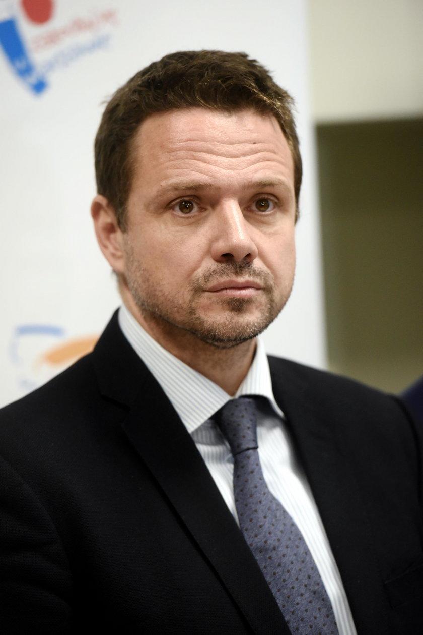 Rafał Trzaskowski (47 l.), prezydent Warszawy