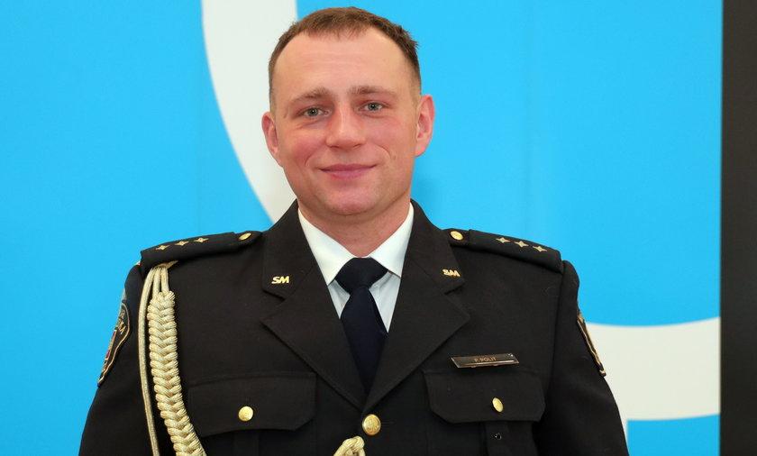 Patryk Polit, komendant Straży Miejskiej w Łodzi