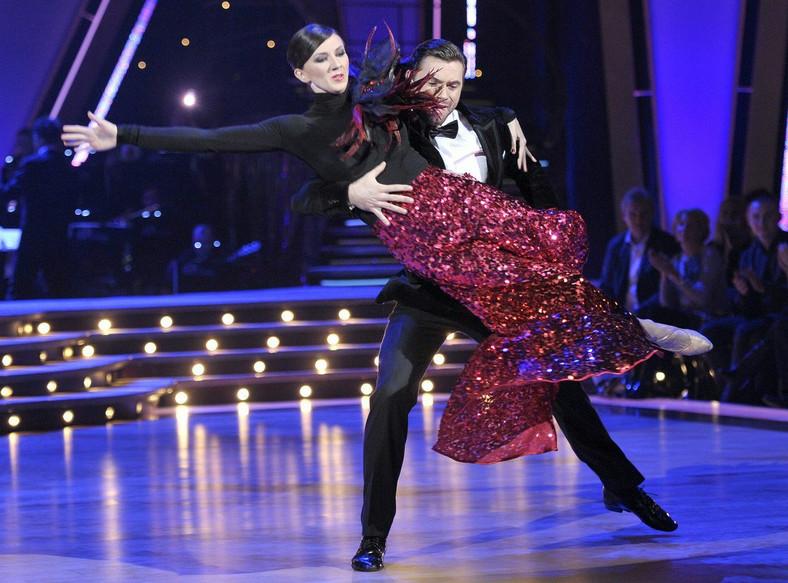 Monika Pyrek i Robert Rowiński tańczą tango