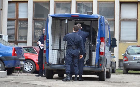 Hapšenje: Osumnjičeni je uhapšen u Vladičinom Hanu, u automobilu žrve