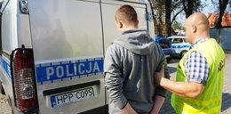 Ohydny zboczeniec w rękach policji