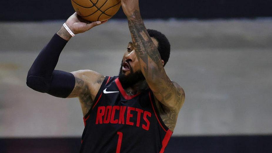 John Wall w barwach Houston Rockets