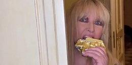 Rodowicz zaskoczyła internautów. Pokazała jak zajada się kostką masła. Fani: Dobre chociaż?