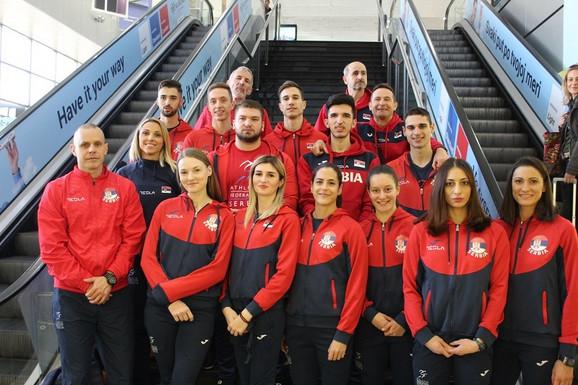 Atletska reprezentacija Srbije