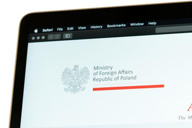"""Polskie MSZ w oświadczeniu wydanym w piątek podkreślił, że """"Polska z niepokojem odnotowuje wypowiedzi strony izraelskiej, dotyczące nowelizacji kodeksu postępowania administracyjnego""""."""