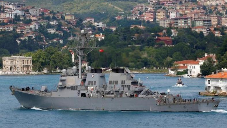 Russia: We will respond to entry of U.S. naval vessel into Black Sea