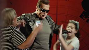 Arnold Schwarzenegger wkręca przechodniów jako Terminator [WIDEO]