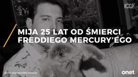 Mija 25 lat od śmierci Freddiego Mercury'ego
