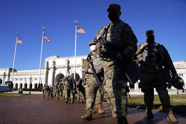 Neviđeno obezbeđenje pred inauguraciju