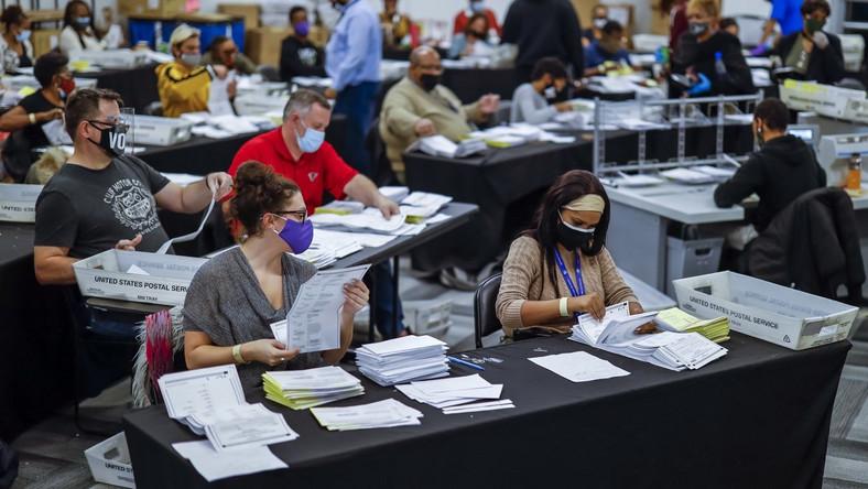 Liczenie głosów w Georgii