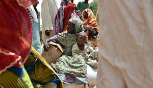 The UN says there are  1.2 million people in northeast Nigeria who cannot be reached by the humanitarian community