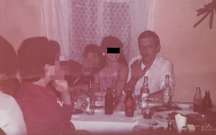 Zdjęcie rodzinne nie zdradza planów żony