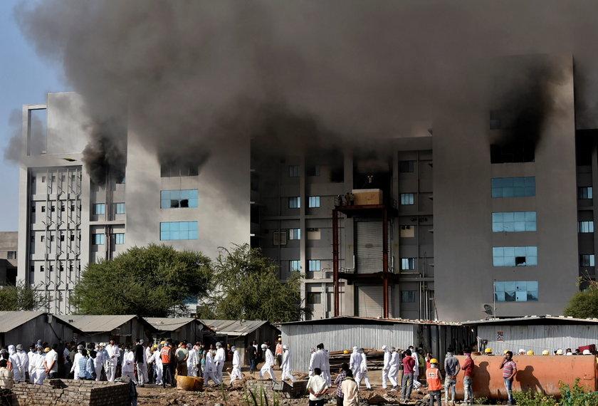 Pożar w fabryce największego producenta szczepionek. Zginęło kilka osób