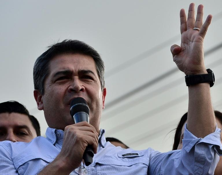 Honduras has been rocked by the allegations against Hernandez -- who has long presented himself as a champion in the campaign against drug trafficking