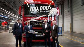 Już 100 tysięcy ciężarówek z Polski