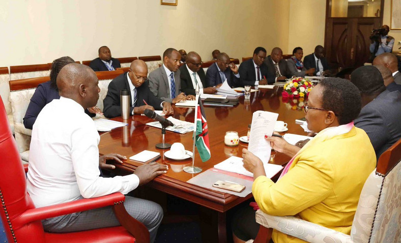 DP Ruto chairs food security meeting amid rising political tension