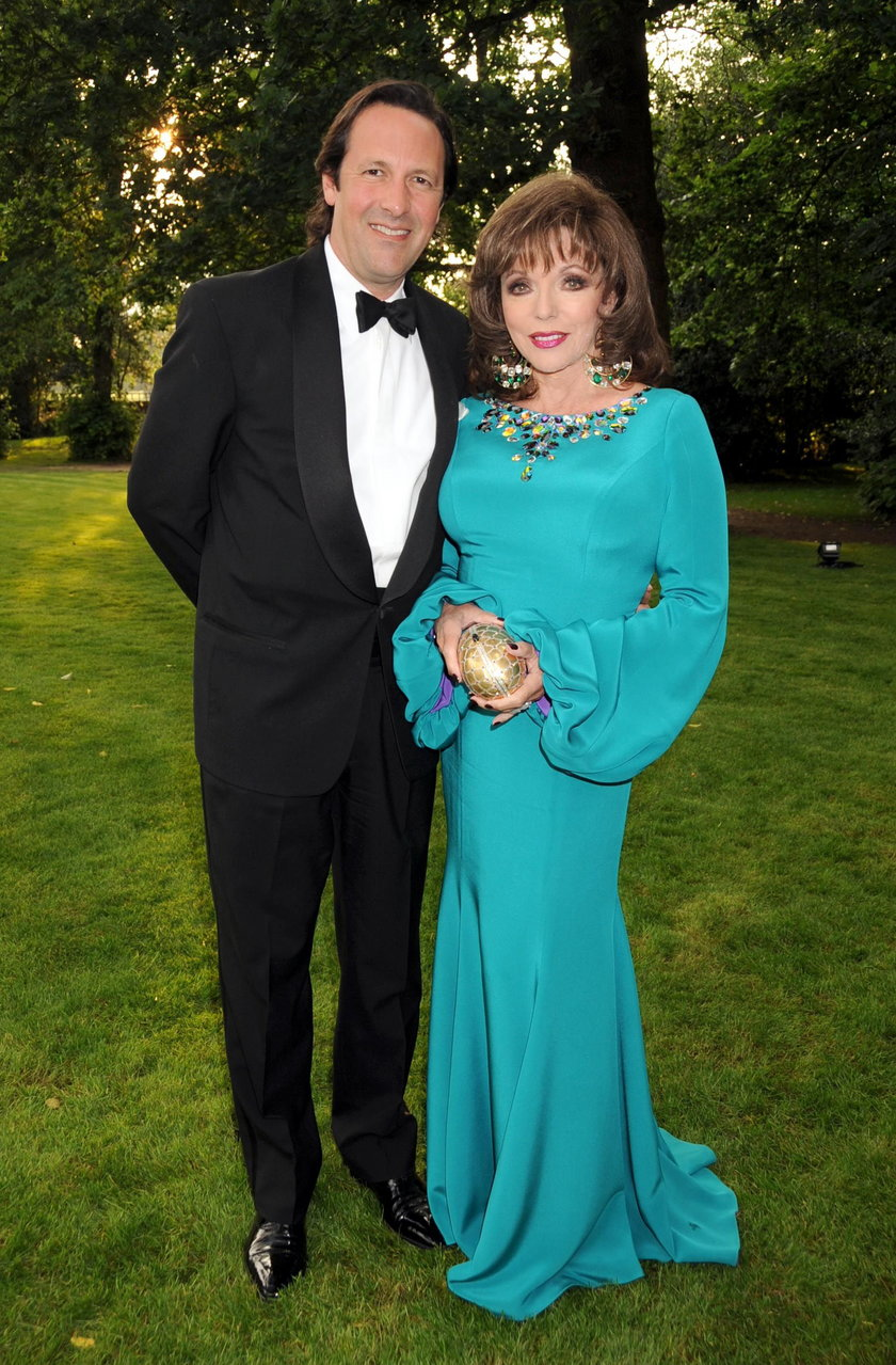 Joan Collins i Percy Gibson